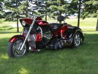 2013 Boss Hoss Gangsta TrikeThis is not your typical