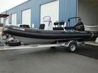 "2013 Brig 570HL Navigator 18'8"" inflatable Rib rigid"