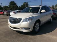 White 2013 Buick Enclave Leather Group FWD 6-Speed