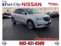 White Diamond Tricoat 2013 Buick Enclave Leather Group