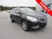 Clean CARFAX. Black 2013 Buick Enclave Leather Group