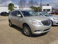 Certified. Champagne Silver Metallic 2013 Buick Enclave