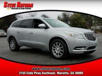 ENCLAVE WITH LEATHER TRIM LEVEL, LEATHER INTERIOR,
