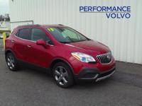 ONE OWNER!! 2013 BUICK ENCORE!! AWD, 1.4L TURBOCHARGED