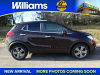 Options:  2013 Buick Encore Convenience|Brown|Touch