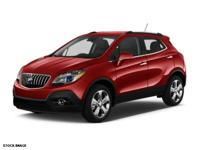 Clean CARFAX. Red 2013 Buick Encore Convenience AWD