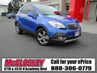 ONLY 26K Miles! 2013 Buick Encore! Backup Camera,
