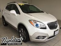 Recent Arrival! 2013 Buick Encore in White, AUX