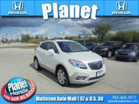 2013 Buick Encore Leather White ** ONE OWNER **, ** AWD
