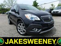 Our 2013 Buick Encore Leather All Wheel Drive on