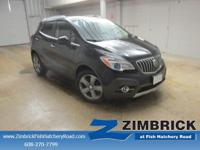 Options:  2013 Buick Encore Fwd 4Dr Leather|4 Cylinder