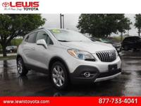 Options:  2013 Buick Encore Leather|Leather 4Dr