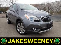Our One Owner 2013 Buick Encore Premium AWD is gorgeous