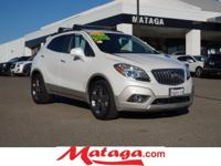 2013 Buick Encore Premium in White Pearl Tricoat with