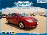 This 2013 Buick LaCrosse Leather comes equipped with