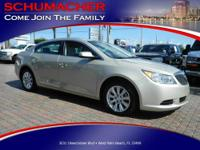 Excellent Condition, Buick Certified, CARFAX 1-Owner,