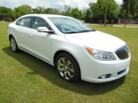 2013 Buick Lacrosse 3.6L V6 AT, 21,557 miles, White