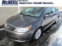 New Price! This 2013 Buick LaCrosse in Storm Gray