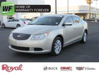 Hurry down, this extremely clean 2013 Buick LaCrosse