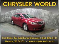 LEATHER SEATS, HEATED SEATS, BLUETOOTH, REMOTE START,