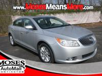 Clean CARFAX. Quicksilver Metallic 2013 Buick LaCrosse