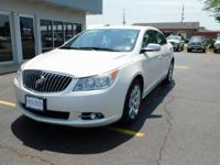 New Price! White Diamond Clearcoat 2013 Buick LaCrosse