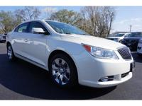 2013 Buick LaCrosse Leather Group White Diamond 18