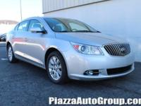 Silver 2013 Buick LaCrosse Leather Group FWD ECOTEC