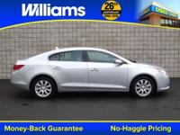Options:  2013 Buick Lacrosse Leather