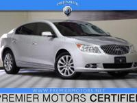 Options:  2013 Buick Lacrosse Leather Group|Silver|3.6L