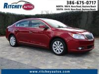 CERTIFIED PRE-OWNED BUICK LaCROSSE**CLEAN CAR FAX**ONE