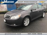 Options:  2013 Buick Lacrosse Leather Group|Come