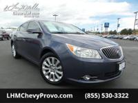 Boasts 27 Highway MPG and 17 City MPG! This Buick