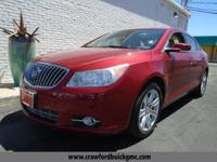 Come see this 2013 Buick LaCrosse Leather. Its