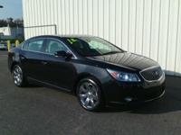2013 BUICK LACROSSE CXL!! AWD, 4 DOOR SEDAN, 3.8L V6,