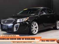 2013 Buick Regal GS in Black Diamond Tricoat, GM