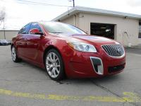 Options:  2013 Buick Regal 4D Sedan Gs Red Fwd 4-Cyl