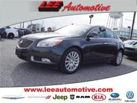Test drive this 2013 Buick Regal located at Lee