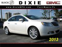 Options:  2013 Buick Verano Base|Base 4Dr Sedan|2.4L|4