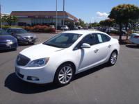 2013 Buick Verano White Fresh Oil Change, No Accident
