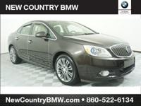 Clean CARFAX. Brown 2013 Buick Verano Premium Group FWD