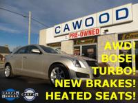 Options:  2013 Cadillac Ats 2.0L Turbo|Radiant Silver