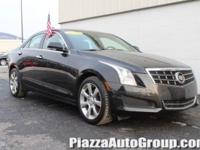 Black 2013 Cadillac ATS 2.0L Turbo Luxury AWD 2.0L