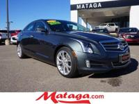 2013 Cadillac ATS 2.0L Turbo Premium in Black Raven