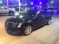 We are excited to offer this 2013 Cadillac ATS. CARFAX