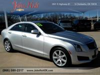 LOW MILES, This 2013 Cadillac ATS 2.5L will sell fast