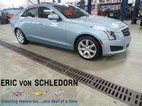 ATS SEDAN WITH POWER SUNROOF AND INCLUDES 12