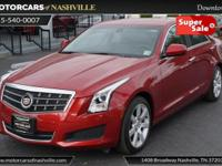 This 2013 Cadillac ATS 4dr 4dr Sedan 2.5L RWD features