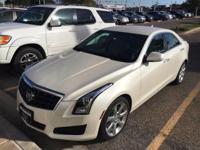 We are excited to offer this 2013 Cadillac ATS. How to
