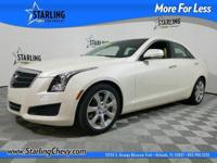 ATS 2.5L Luxury, 4D Sedan, 2.5L I4 DI DOHC VVT, 6-Speed